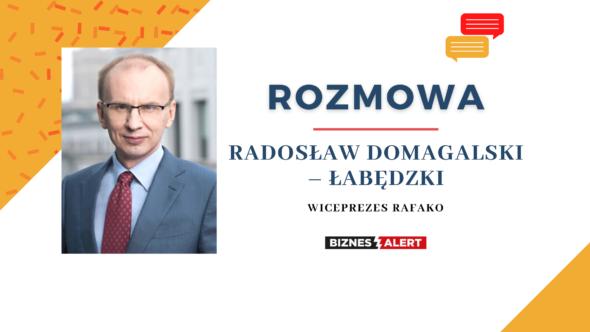 Radosław Domagalski – Łabędzki, wiceprezes Rafako