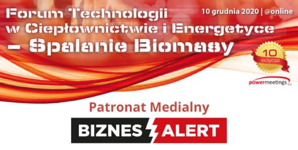 Forum Technologii w Ciepłownictwie i Energetyce – Spalanie Biomasy