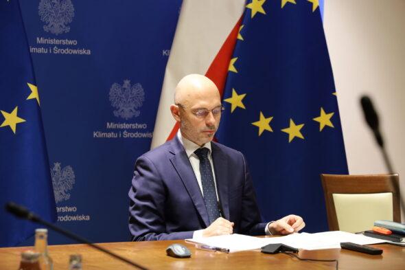 Michał Kurtyka. Fot. Ministerstwo klimatu i środowiska