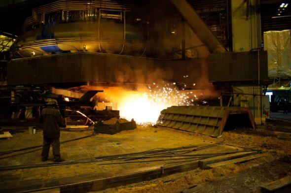 Piec do wytwarzania stali NLMK
