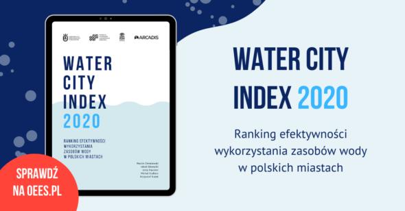 Premiera rankingu Water City Index 2020