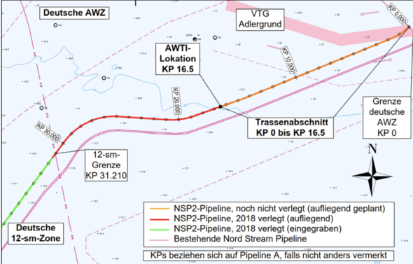 Niemiecka zgoda środowiskowa Nord Stream 2