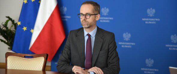 Adam Guibourge-Czetwertyński, wiceminister klimatu. Fot. Ministerstwo Klimatu i Środowiska