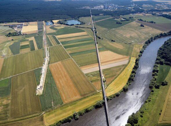 Budowa gazociągu Zdzieszowice – Brzeg.Fot. Gaz-System