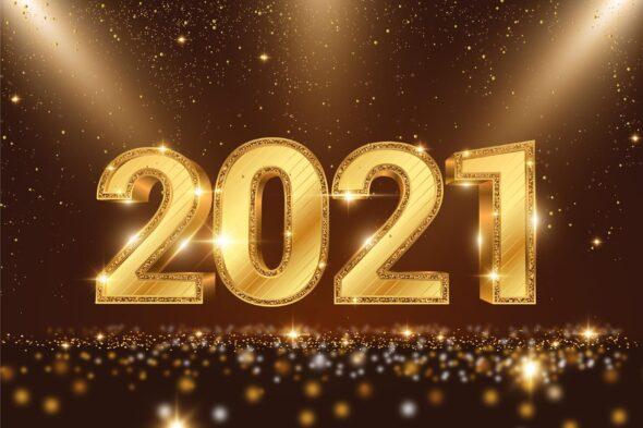 2021 rok. Fot. Freepik