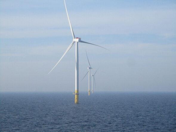 Morska farma wiatrowa Borssele w Holandii. Fot. Orsted