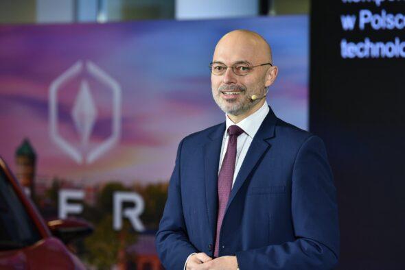 Michał Kurtyka, Minister Klimatu i Środowiska. Zapowiedź budowy fabryki IZERA. Fot.: Ministerstwo Klimatu i Środowiska