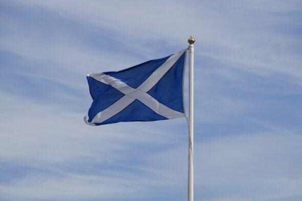 Flaga Szkocji. Źródło Pixabay