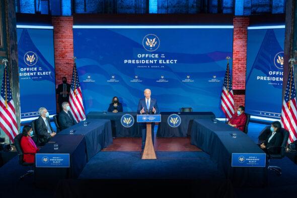 Gabinet prezydenta elekta Joe Bidena fot Biały Dom