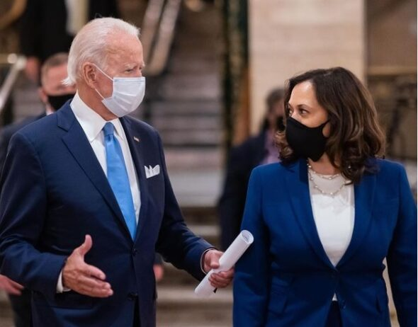 Joe Biden i Kamala Harris. Źródło Instagram