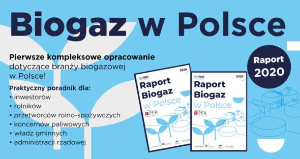 """Stan branży biogazowej w Polsce według """"Biogaz w Polsce – raport 2020"""""""