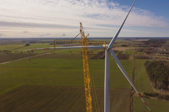 Farma wiatrowa Potęgowo: Fot.:ashav Energia
