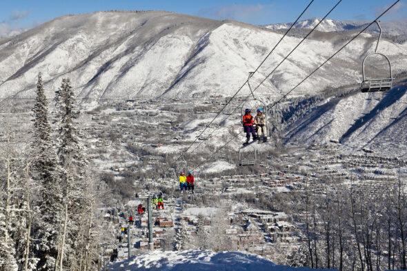 Wyciąg narciarski w Aspen