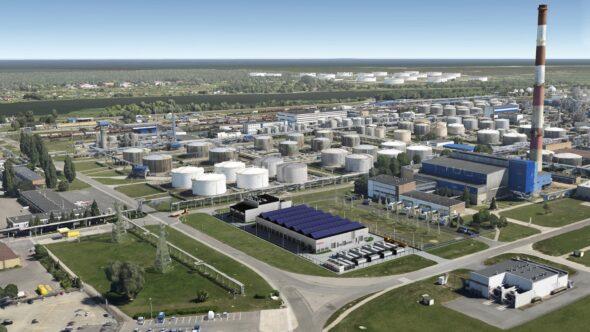 Rafineria Gdańska. Fot. Grupa Lotos
