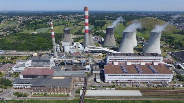 Elektrownia Łaziska.Fot; Tauron Wytwarzanie