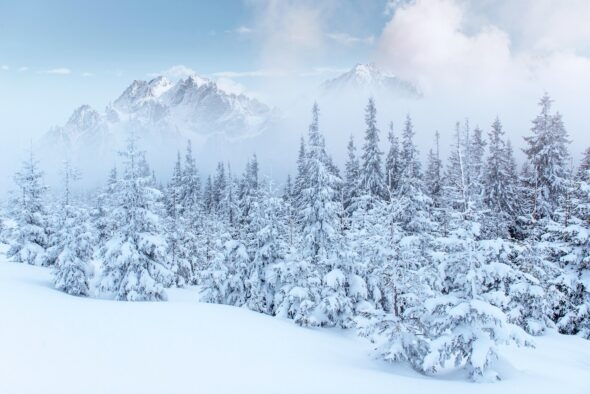Zima w górach. Fot. Freepik