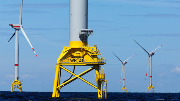 Morska farma wiatrowa Wikinger. Fot.: Iberdrola