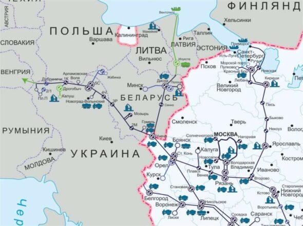 Dwie linie ropociągów produktowych na Białorusi