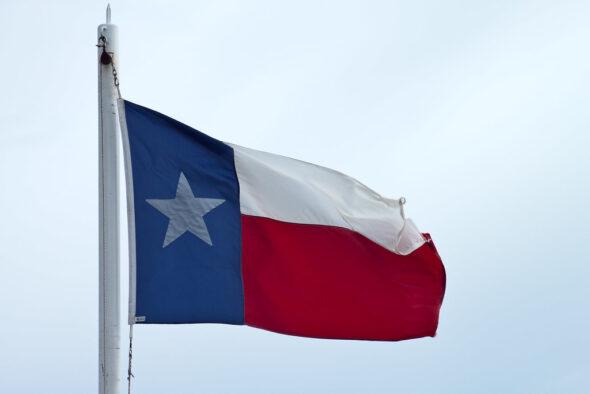 Flaga Teksasu. Źródło Flickr