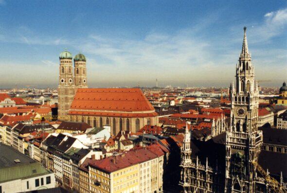 Monachium. Źródło Wikicommons