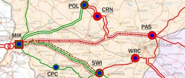 Linie wysokiego napięcia na Dolnym Śląsku fot PSE