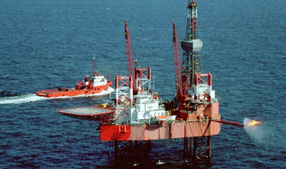 Platforma wiertnicza Lotos Petrobaltic fot.Petrobaltic
