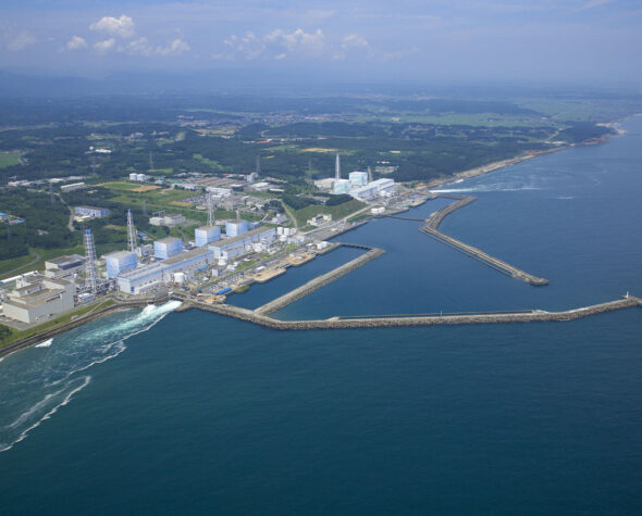 Elektrownia jądrowa Fukushima. Fot. tepco.co.jp