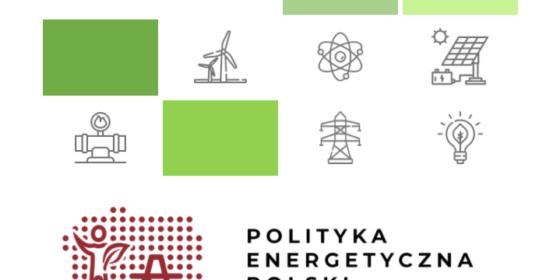 Nagłówek Polityki Energetycznej Polski do 2040 roku, czyli tzw. strategii energetycznej. Fot. Wojciech Jakóbik