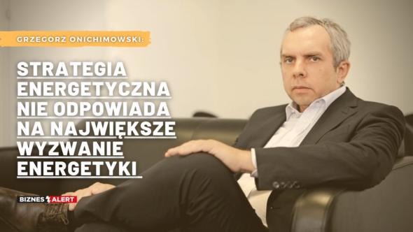Grzegorz Onichimowski. Grafika: Gabriela Cydejko
