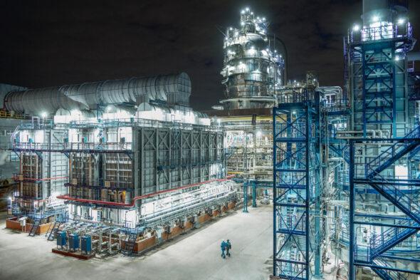 Zakład przetwórstwa gazu fot.Gazprom