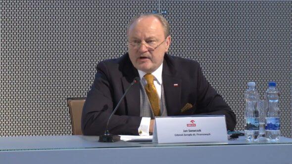 Jan Szewczak, członek zarządu PKN Orlen