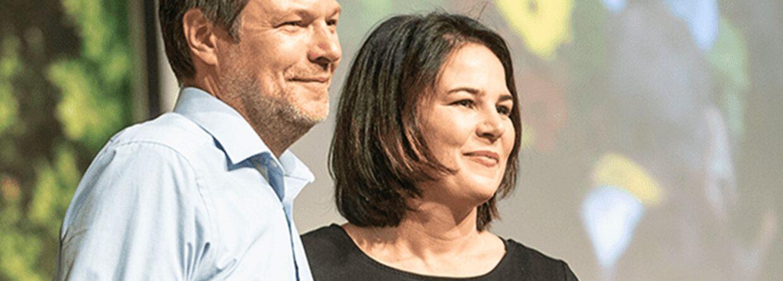 Annalena Baerbock i Robert Habeck. Źródło: Gruene