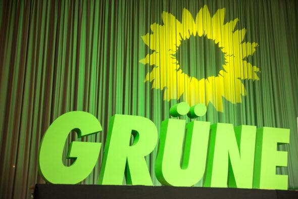 Logo niemieckich Zielonych. Źródło Flickr