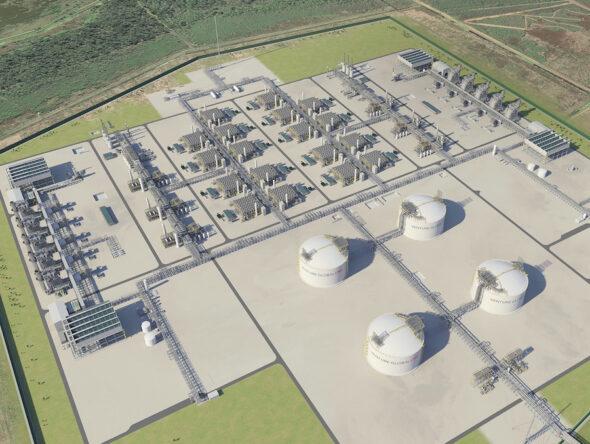 Terminal Plaquemines LNG fot Venture