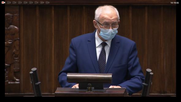 Krzysztof Tchórzewski. Fot. Sejm RP/BiznesAlert.pl/Bartłomiej Sawicki