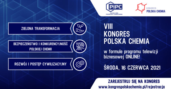 VIII Kongres Polska Chemia 2021. Grafika organizatora