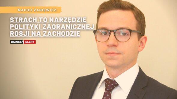Maciej Zaniewicz. Grafika: Gabriela Cydejko