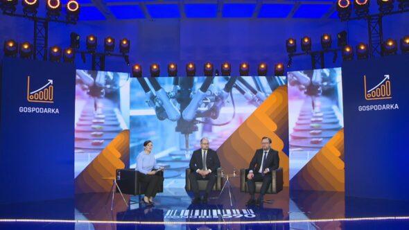 Panel dyskusyjny podczas Kongresu 590. Fot. BiznesAlert.pl