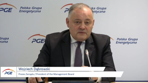 Prezes Polskiej Grupy Energetycznej Wojciech Dąbrowski. Fot. BiznesAlert.pl
