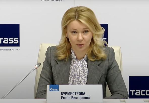 Jelena Burmistrowa, prezes Gazprom Export fot. Gazprom/Mariusz Marszałkowski