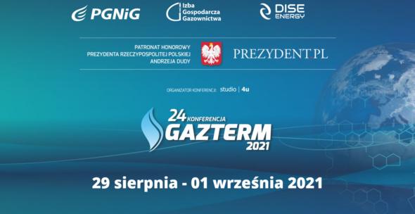 Gazterm 2021. Grafika organizatora