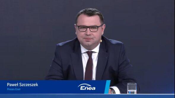 Prezes Enei Paweł Szczeszek. Fot. Bartłomiej Sawicki