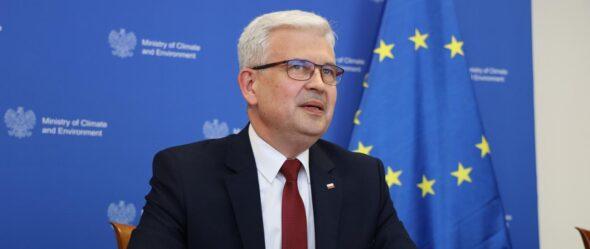 Ireneusz Zyska, ministerstwo klimatu i środowiska. Fot. MKiS
