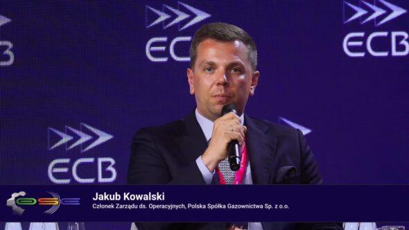 Członek zarządu ds. operacyjnych Polskiej Spółki Gazownictwa Jakub Kowalski. Fot. BiznesAlert.pl