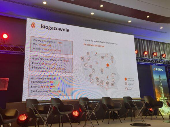 Biogazownie według Polskiej Spółki Gazownictwa