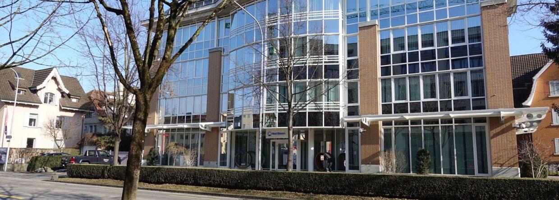 Siedziba spółki Nord Stream AG w Zug, Szwajcaria fot. Wikimedia