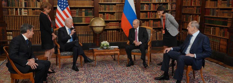 Szczyt Biden-Putin w Genewie. Fot. Biały Dom/Twitter