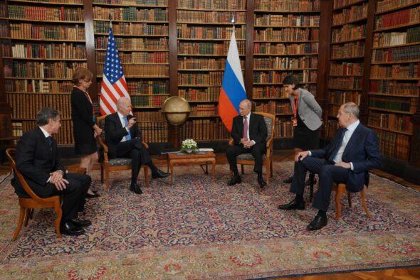 Szczyt Biden Putin Genewa Biały Dom