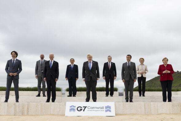 Szczyt G7 w Kornwalii. Fot. Flickr