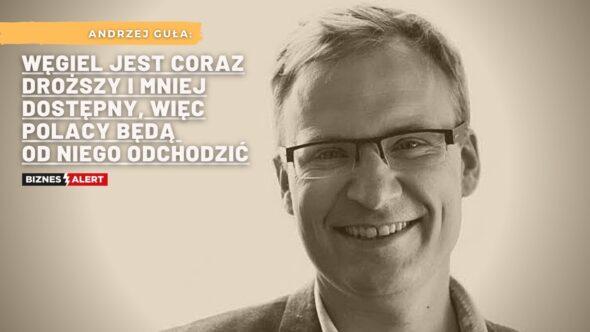 Andrzej Guła. Grafika: Gabriela Cydejko.
